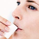 Полоскание полости рта хлоргексидином